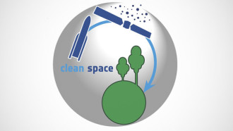 ADR1EN presented at the Clean Space industrial days